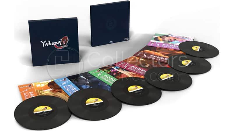 """""""Yakuza 0"""" Soundtrack zum japanischen Open-World-Action-Adventure-Spiel im 6 LP Boxset und 2 LP Set"""