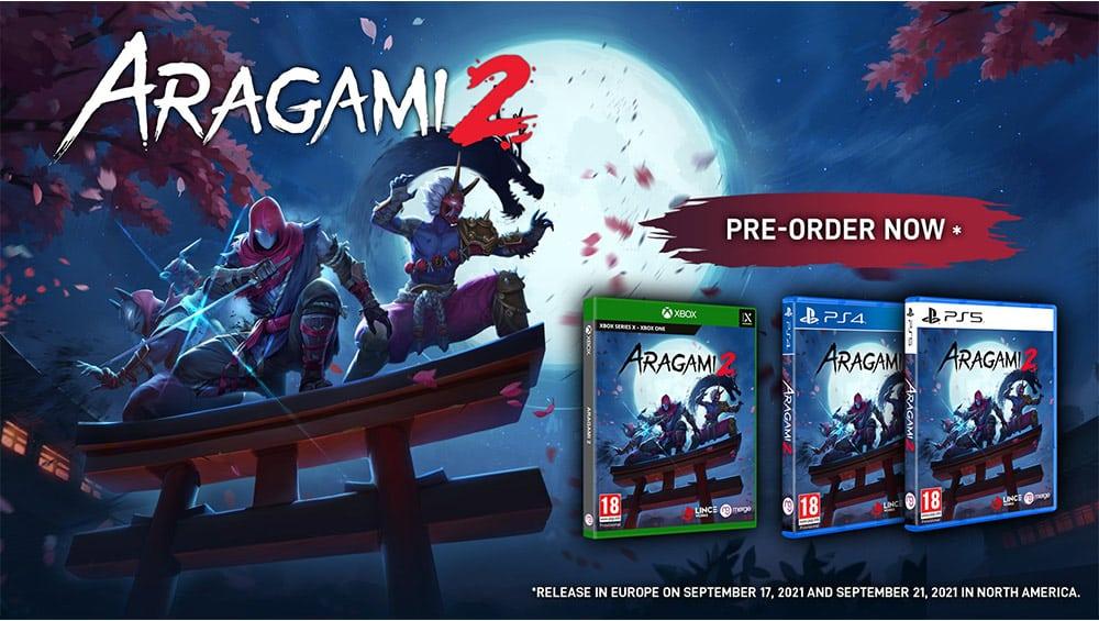 """""""Aragami 2"""" erscheint für die Playstation 4/5, Xbox One/Series X und Nintendo Switch   ab September 2021"""