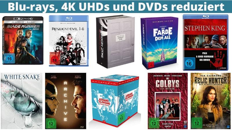 Reduzierte Filme & Serien zum Muttertag & Vatertag bei Amazon | Blu-ray, 4K UHD und DVD