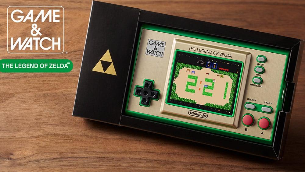 Game & Watch: The Legend of Zelda-System ab November 2021 – Update 2