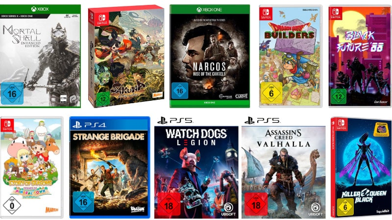 Einige Games reduziert bei Otto – unter anderem: Strange Brigade PS4 für 2,98€ | Black Future 88 Nintendo Switch für 12,50€