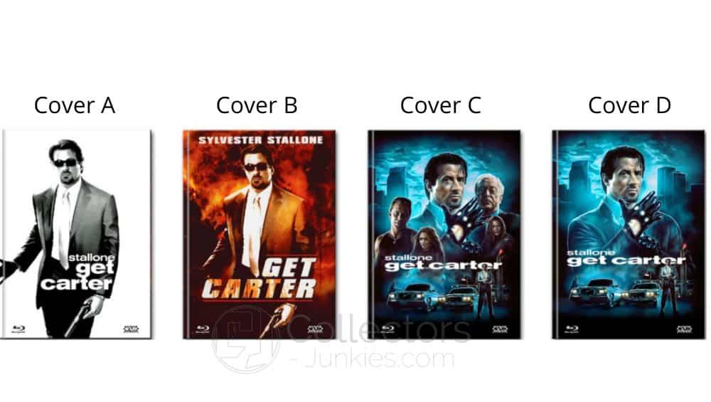 """""""Get Carter – Die Wahrheit tut weh"""" ab September in 4 Blu-ray Mediabook"""
