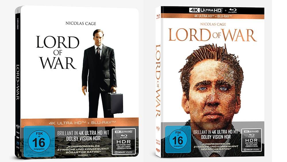 """""""Lord of War – Händler des Todes"""" ab August 2021 im geprägten 4K Steelbook sowie im 4K Mediabook – Update"""