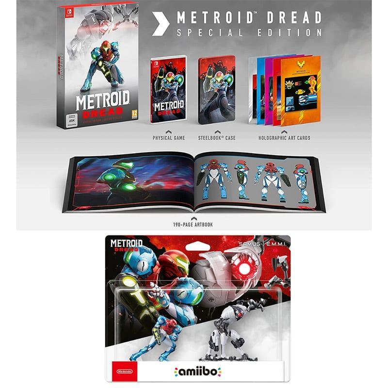 """""""Metroid Dread"""" Special Edition und amiibo Figuren ab Oktober 2021 für die Nintendo Switch – Update 3"""