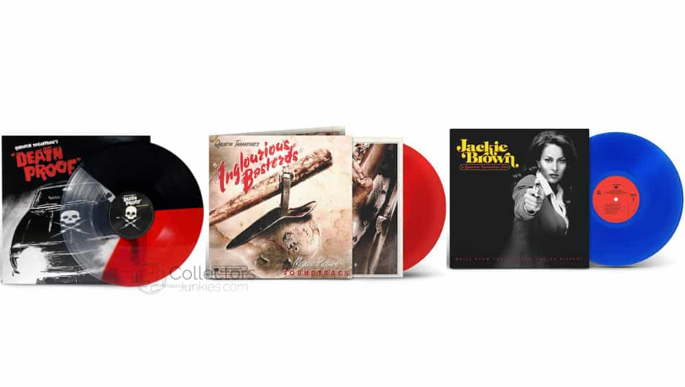 "Quentin Tarantino's ""Death Proof"", ""Inglourious Basterds"", ""True Romance"" und ""Jackie Brown"" Motion Picture Soundtrack auf Vinyl – Update"