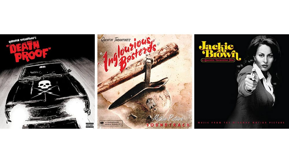 "Quentin Tarantino's ""Death Proof"", ""Inglourious Basterds"" und ""Jackie Brown"" Motion Picture Soundtrack auf Vinyl"