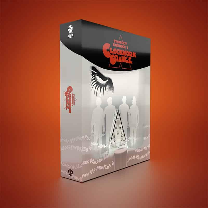 """A Clockwork Orange"" erscheint im Titans of Cult 4K Steelbook Set (DE/ FR/ UK/ ES/ IT) – Update2"