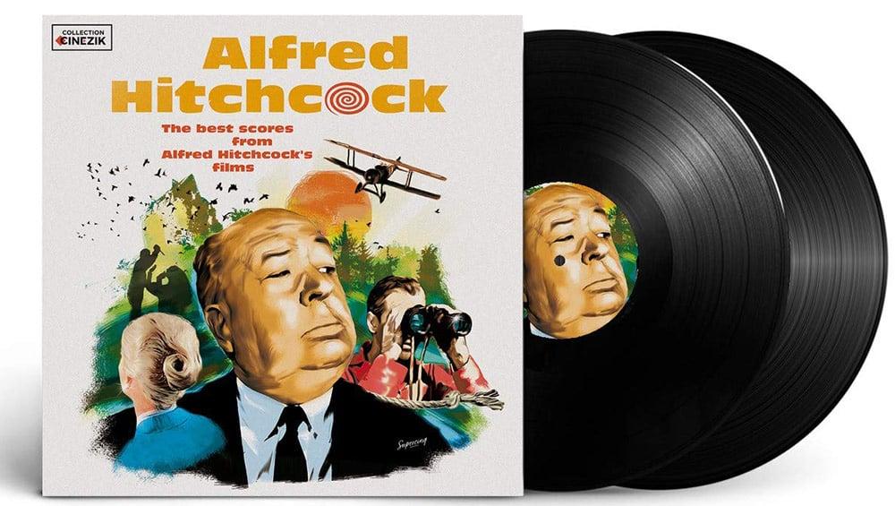 """The best Scores from Alfed Hitchcock´s Films"" im Doppel-Vinyl Set für 13,69€"