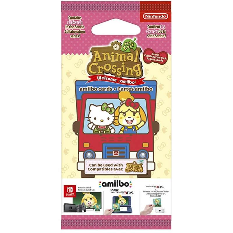 Animal Crossing: New Horizons – Sanrio amiibo Karten im 6er Pack (Nintendo Switch) | ab August 2021 – Update