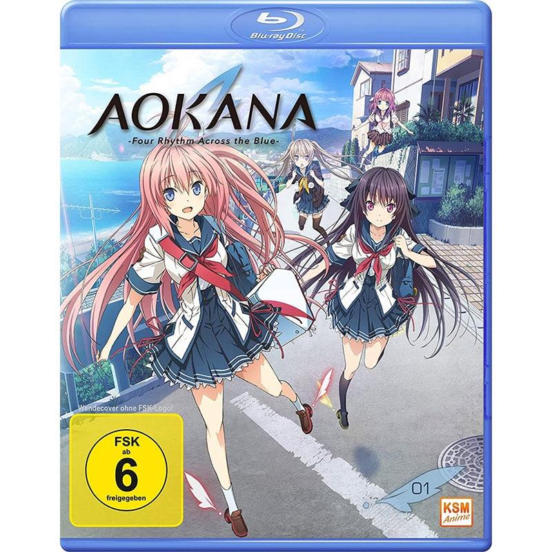 """Aokana – Four Rhythm Across the Blue"" – erstes Volme auf Blu-ray für 9,21€"