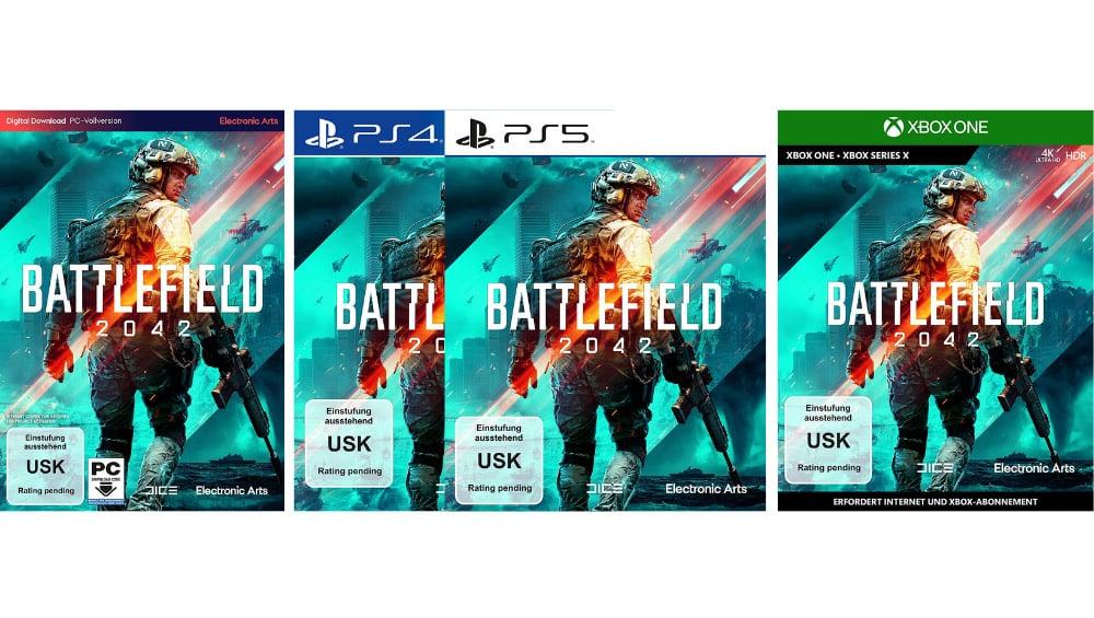 """""""Battlefield 2042"""" Standard Edition, Gold Edition und weitere Varianten   ab Oktober 2021"""