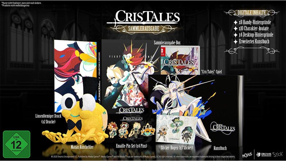 """""""Cris Tales"""" Collectors Edition sowie in den Standard Varianten für die Playstation 5/4, Xbox Series X/ One und Nintendo Switch"""