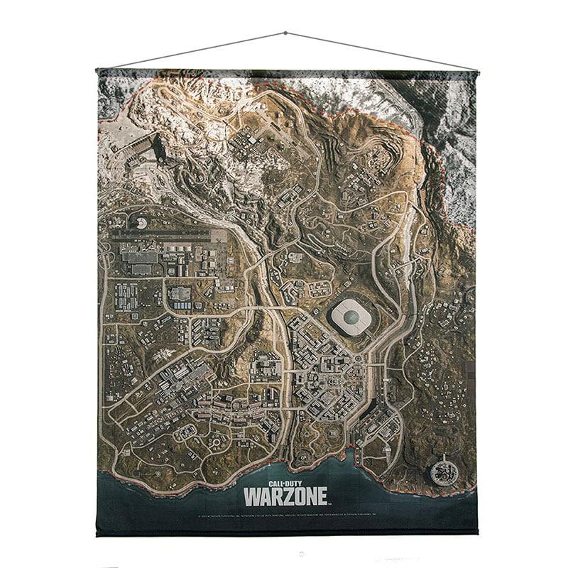 """""""Call of Duty: Warzone"""" Wallscroll der """"Verdansk Map""""   ab August 2021"""