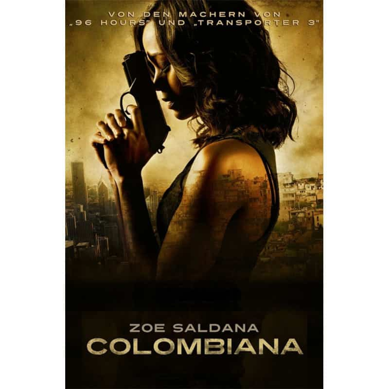 """Colombiana"" ab September in 3 Blu-ray Mediabooks"
