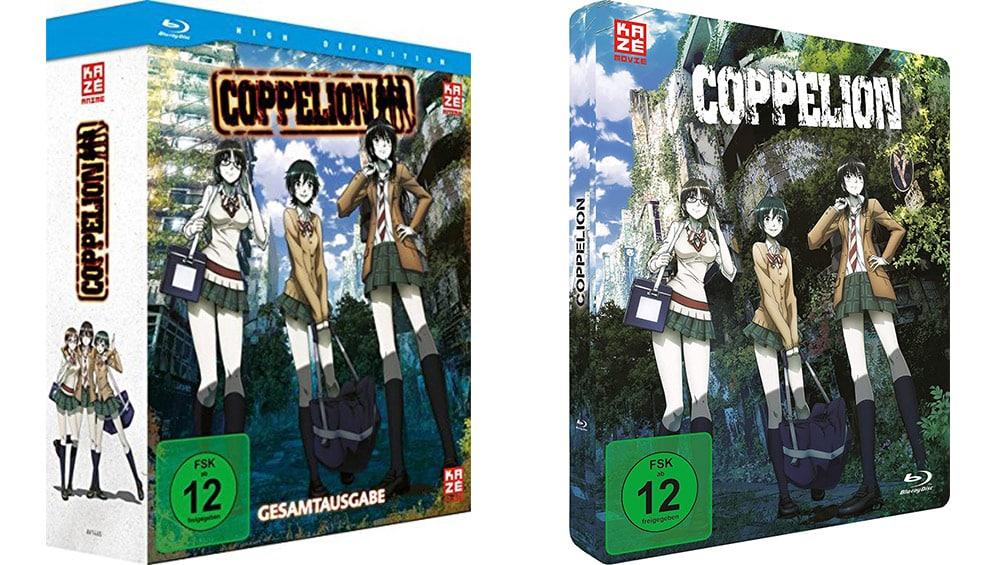"""""""Coppelion"""" Gesamtausgabe auf Blu-ray für 29,95€ und in der FuturePak Edition für 49,95€"""