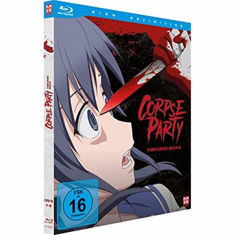 """""""Corpse Party: Tortured Souls"""" in der Gesamtausgabe auf Blu-ray für 29,95€"""