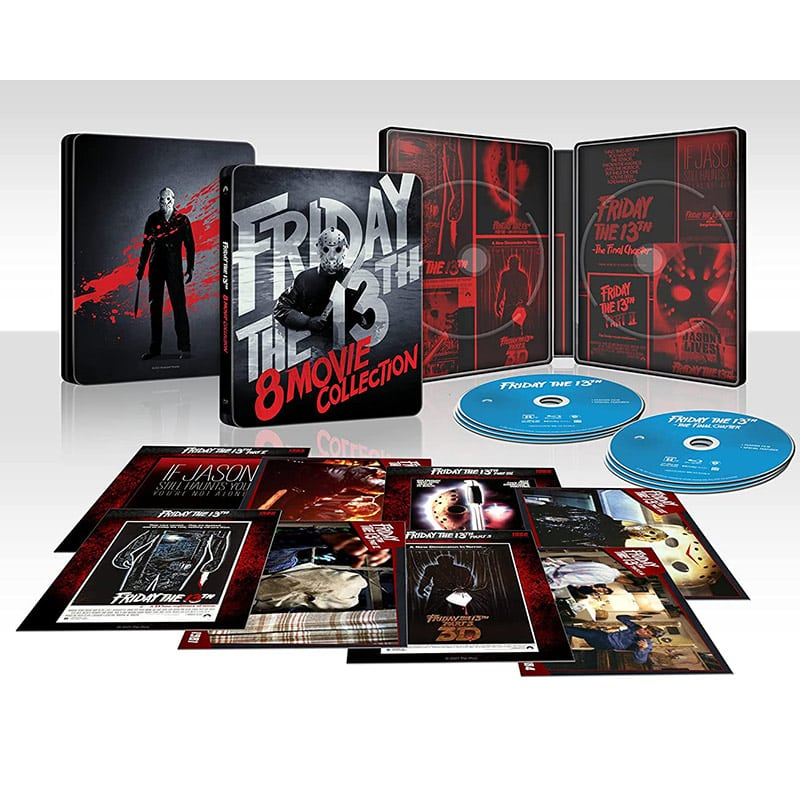 """""""Friday the 13th"""" 8-Movie Collection im Blu-ray Steelbook (US/ FR)"""