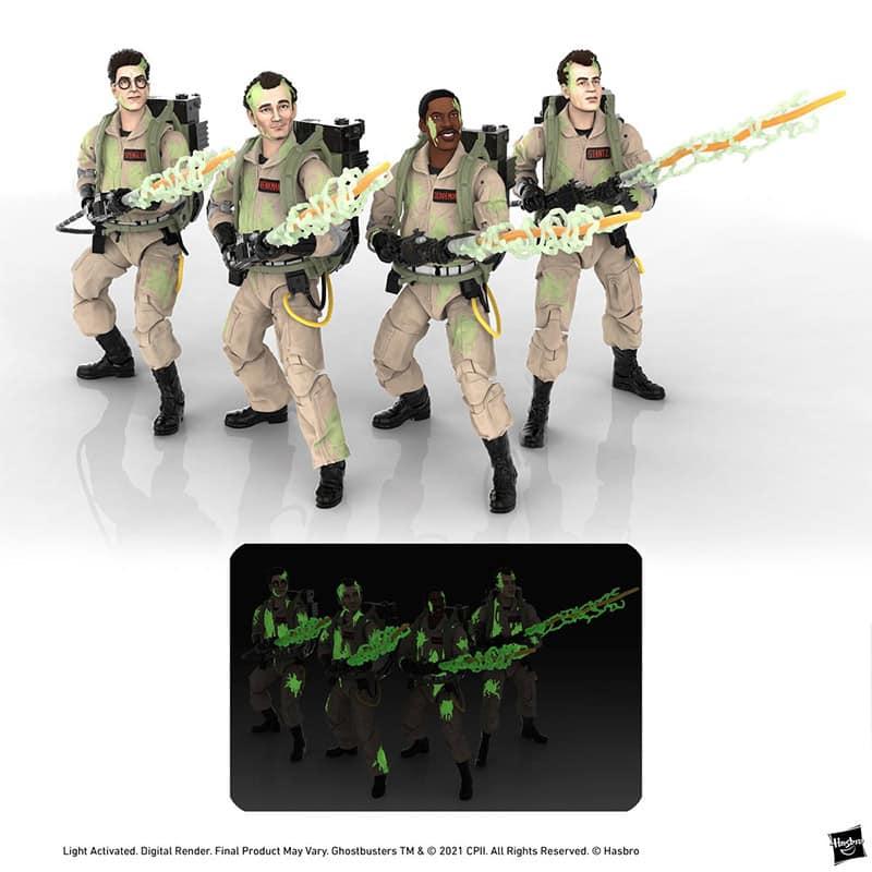 "Ghostbusters ""Glow-in-the-Dark"" Actionfiguren aus Hasbros Plasma Serie   ab Oktober 2021"