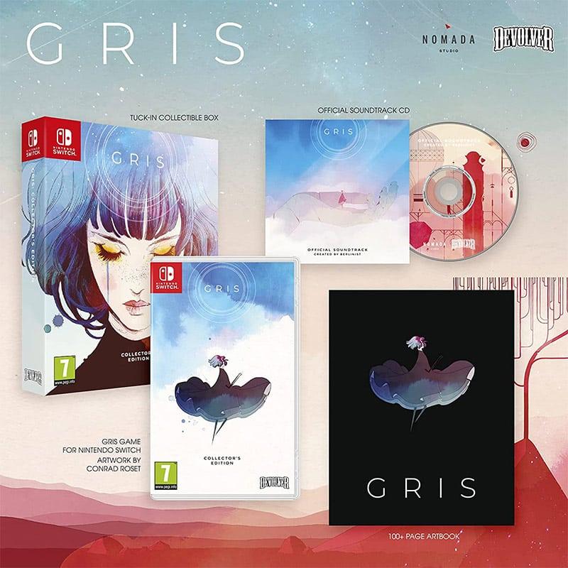 """""""Gris"""" Collectors Edition für die Nintendo Switch (FR)"""