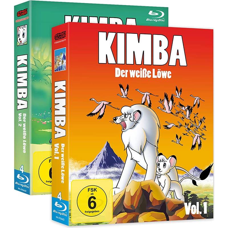 """""""Kimba, der weiße Löwe"""" ab Oktober 2021 in der Gesamtausgabe (Blu-ray)"""