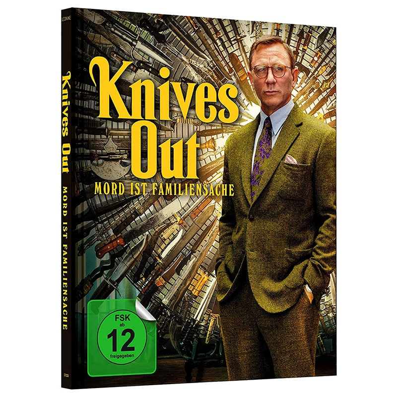 """Knives Out – Mord ist Familiensache"" im 4K Mediabook für 25,73€"