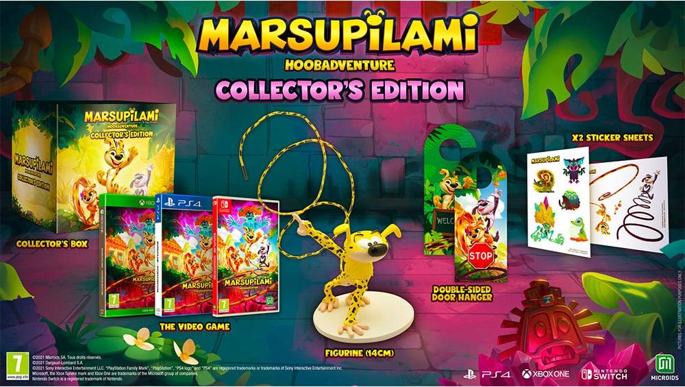 """Marsupilami: Hoobadventure"" Collectors Edition weitere Varianten | ab November 2021"