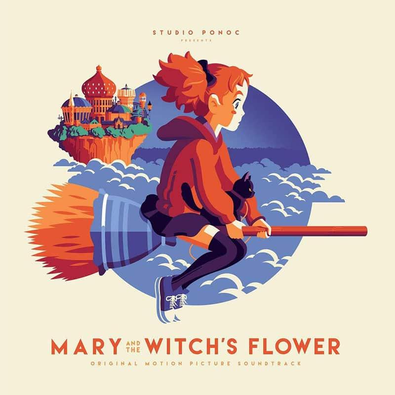 """""""Mary & the Witches Flower"""" Soundtrack auf Vinyl für 22,14€"""