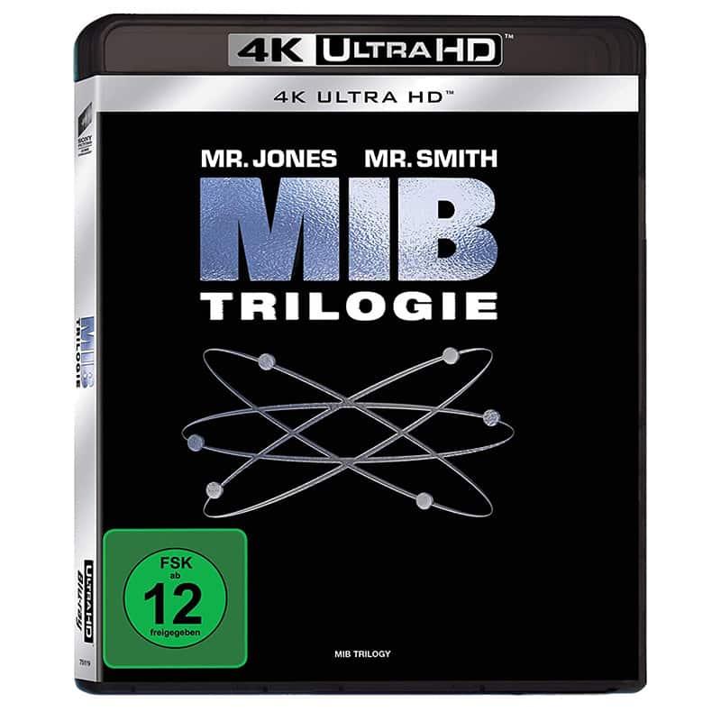 Men in Black 1-3 (4K UHD + Blu-ray) für 22,97€