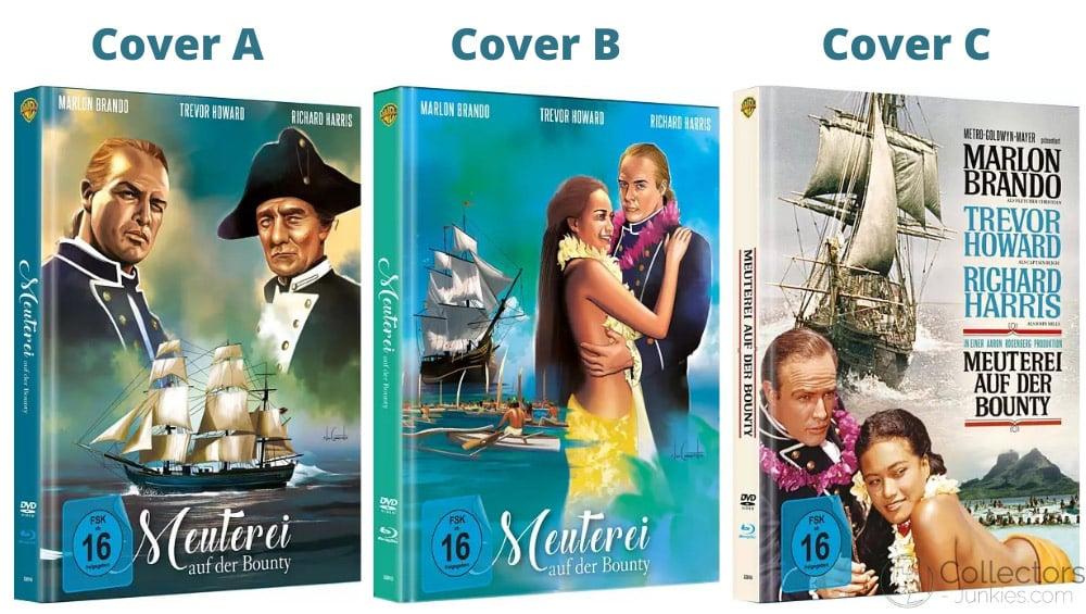 """Meuterei auf der Bounty"" ab September in 3 Blu-ray Mediabooks"