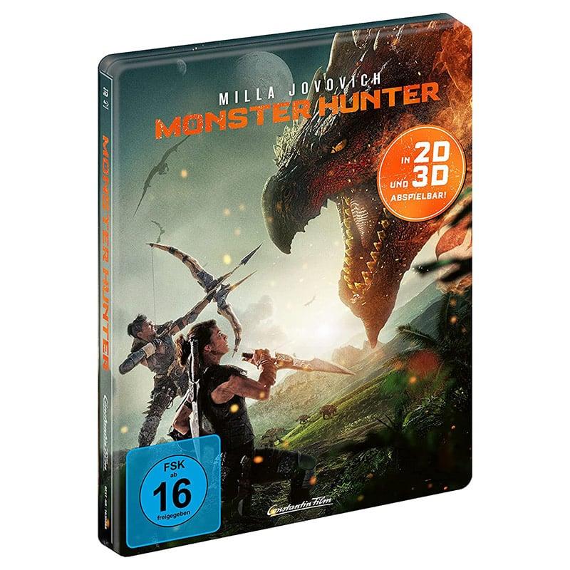 """""""Monster Hunter (2020)"""" im Steelbook sowie als Standard Varianten auf 4K-, 3D- und HD-Blu-ray (DE, FR, ES, UK) – Update10"""