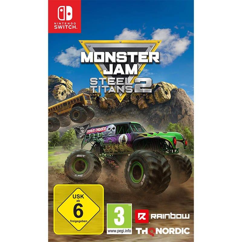 """""""Monster Jam Steel Titans 2"""" für die Nintendo Switch für 24,99€"""