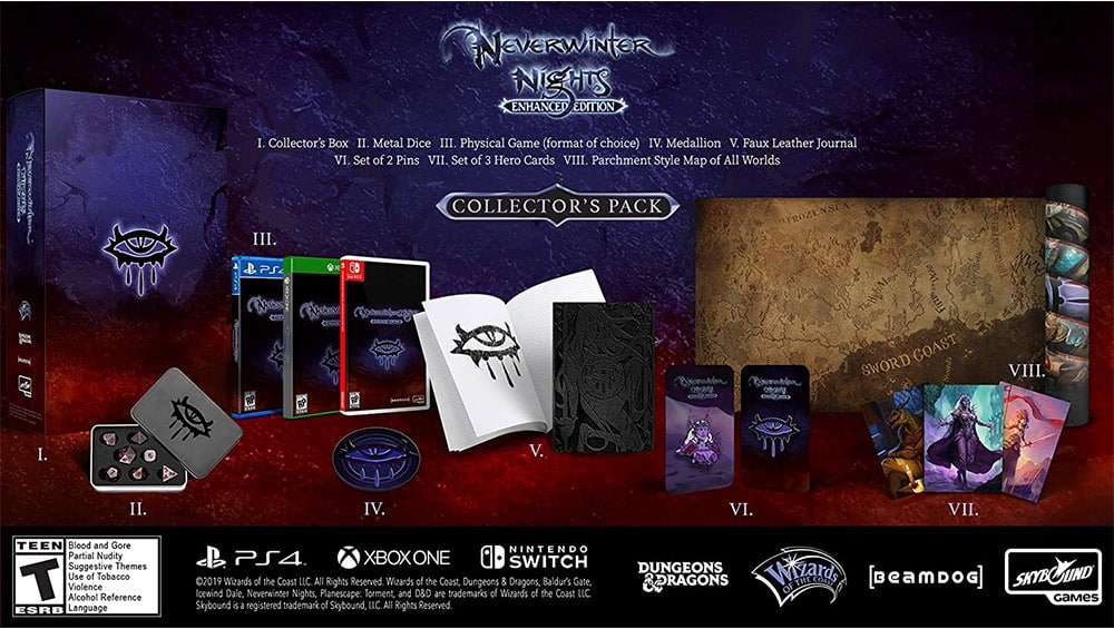 Neverwinter Nights Enhanced in der Collectors Edition für die Playstation 4 für 29,95€