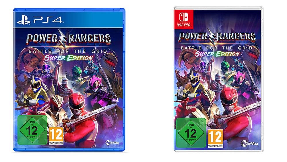 """""""Power Rangers: Battle for the Grid"""" ab August in der Super Edition für die Playstation 4 und Nintendo Switch"""