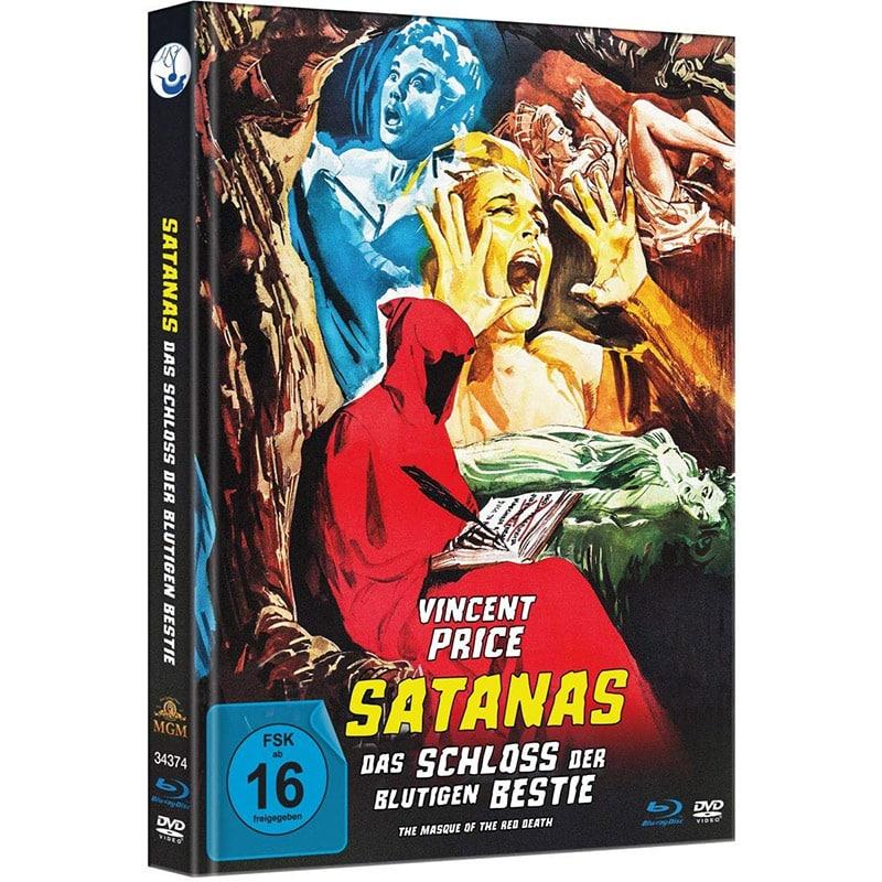 """""""Satanas – Das Schloss der blutigen Bestie"""" im Blu-ray Mediabook für 15,35€"""