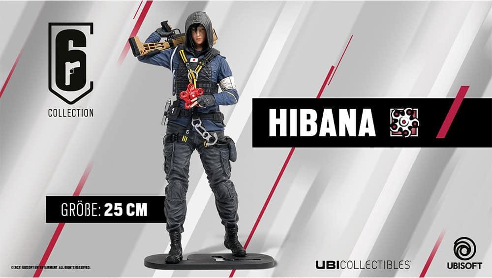 Rainbow Six Siege: Hibana-Figur von Ubi Collectibles   ab Oktober 2021