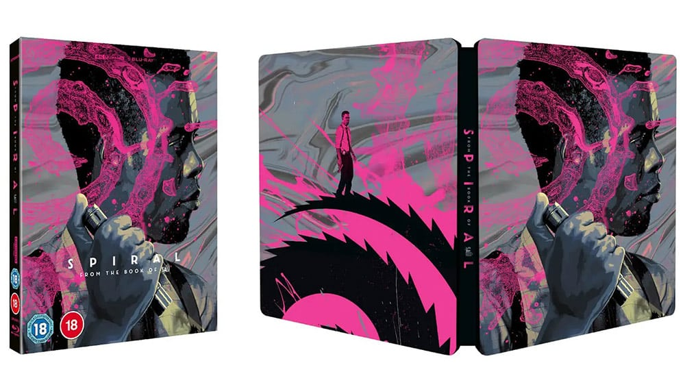 """SAW: Spiral"" im 4K Steelbook (inkl. Blu-ray) (UK) | ab 2021"