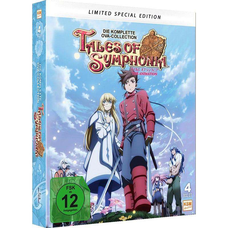 """""""Tales of Symphonia"""" Gesamtausgabe im Blu-ray Mediabook für 40,97€"""