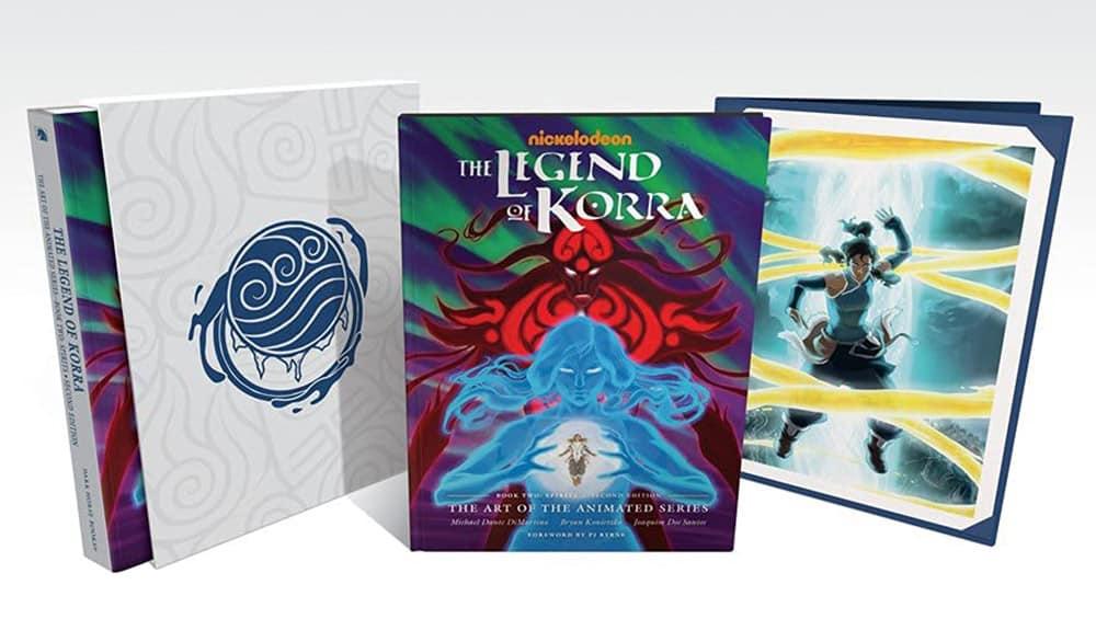 """""""The Legend of Korra: The Art of the Animated Series"""" Buch zwei und drei jeweils in der Deluxe Edition"""