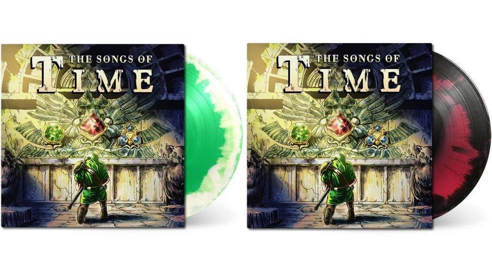 """""""The Legend of Zelda: Ocarina of Time"""" – The Songs of Time by TPR in 2 Vinyl Sets"""