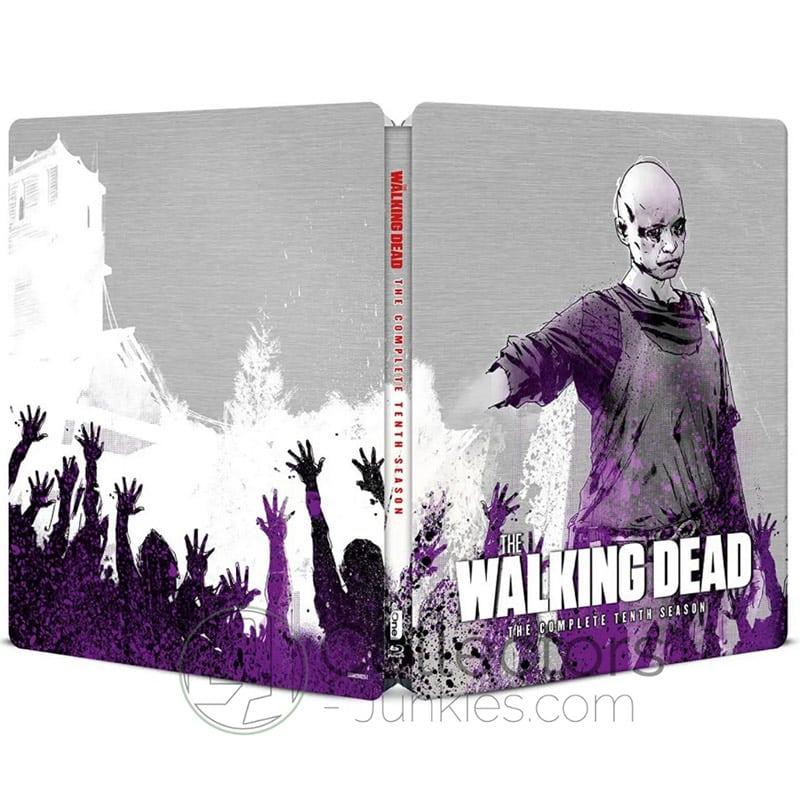 """""""The Walking Dead"""" die komplette 10. Staffel im Blu-ray Steelbook (UK)   ab November 2021 – Update"""