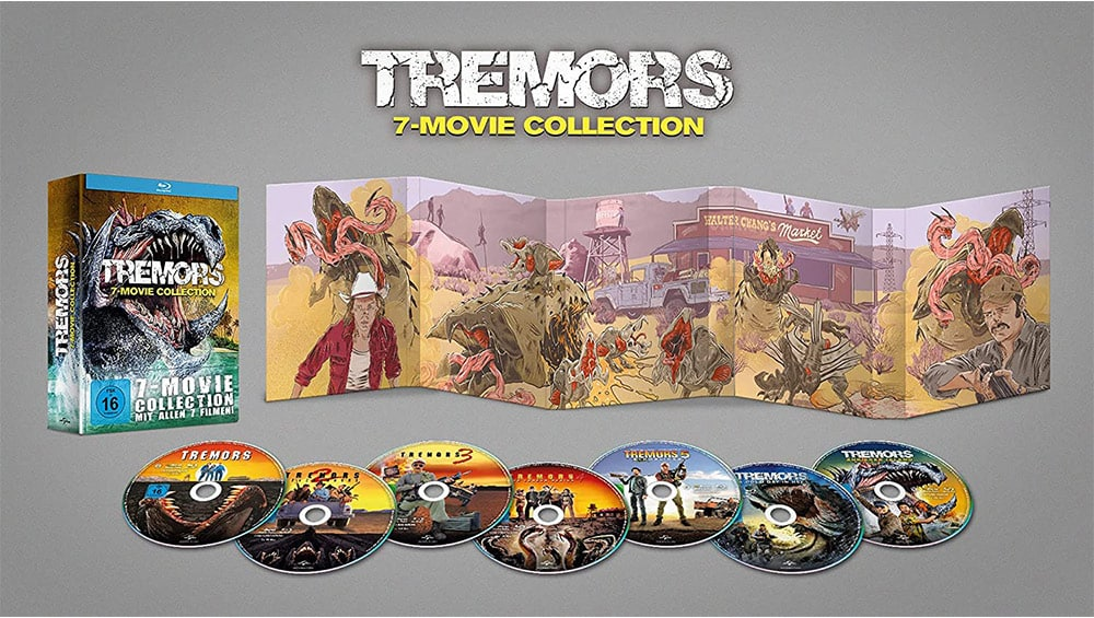 """Tremors 7-Movie Collection"" ab November im Blu-ray Digipak – Update3"