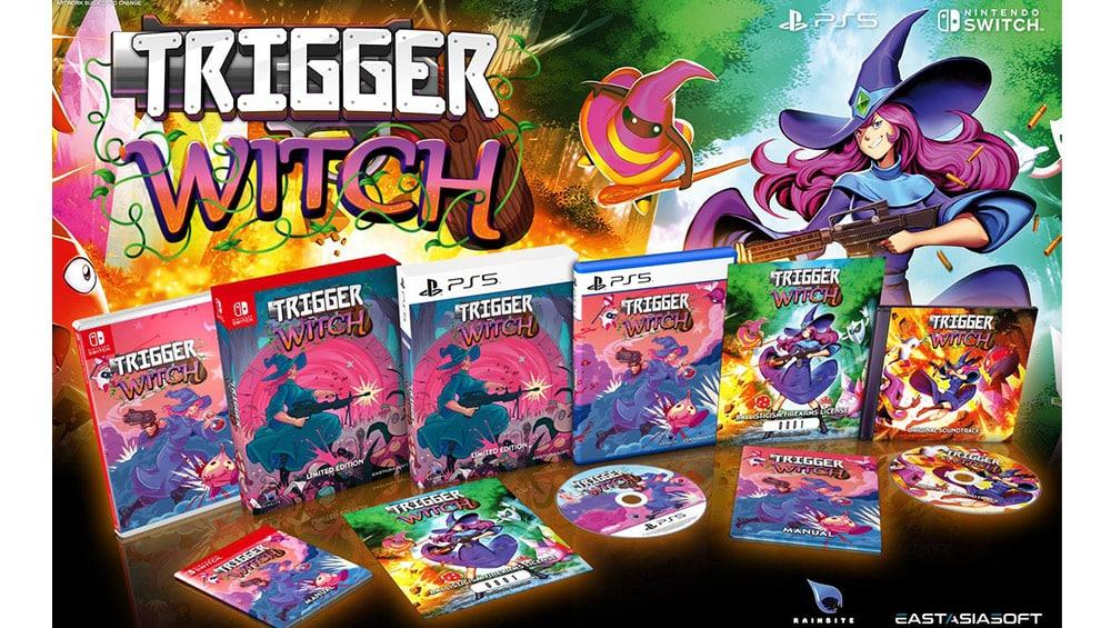 """""""Trigger Witch"""" in einer Limited Edition ab 2021 für die Playstation 5 und Nintendo Switch"""