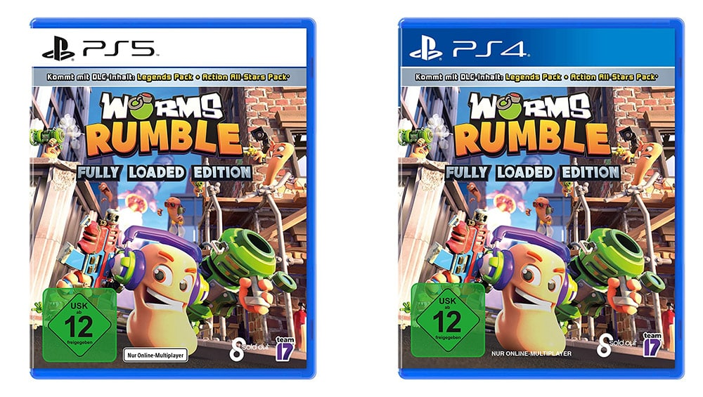 """""""Worms Rumble"""" Fully Loaded Edition für die Playstation 4 für 22,82€ und für die Playstation 5 für 22,97€"""
