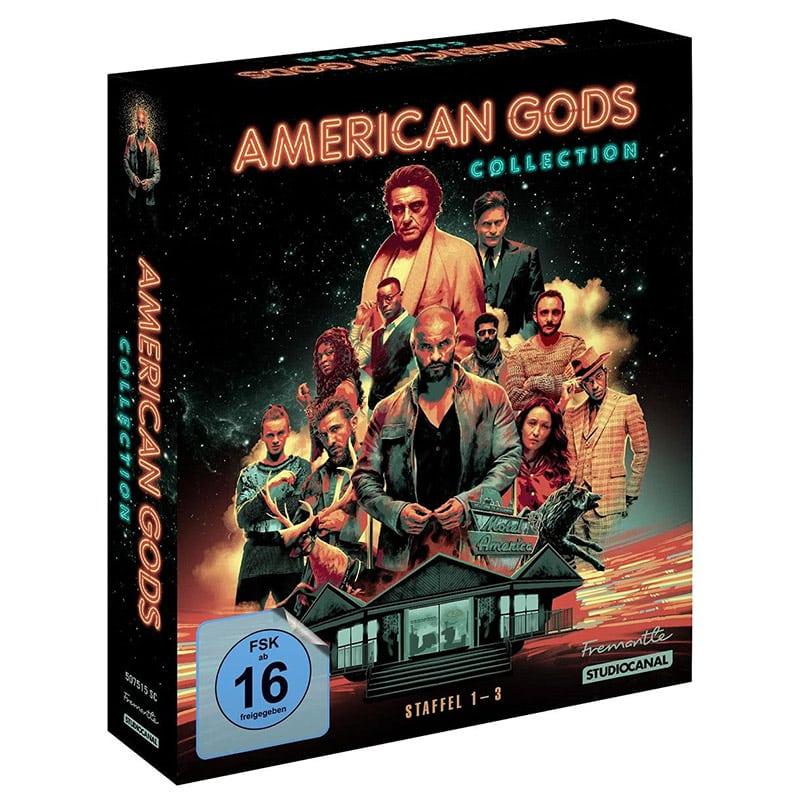 """""""American Gods"""" Staffel 1-3 Collection auf Blu-ray und DVD – Update"""