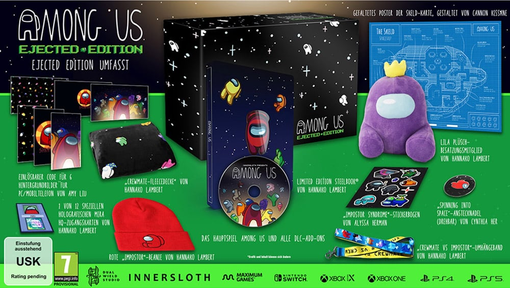 """""""Among Us"""" verschiedene Collectors Editions 