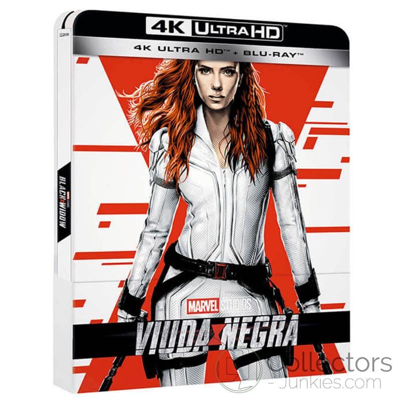 """""""Black Widow"""" im 4K Steelbook sowie in den Standard Varianten auf 4K UHD, Blu-ray und DVD (FR/ES)   ab November 2021 – Update"""