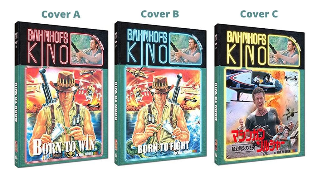 """""""Born to Win"""" ab September in 3 Blu-ray Mediabooks"""