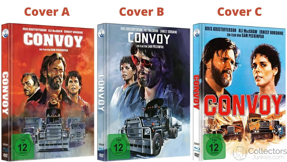 """""""Convoy (1978)"""" ab September in 3 Blu-ray Mediabooks"""