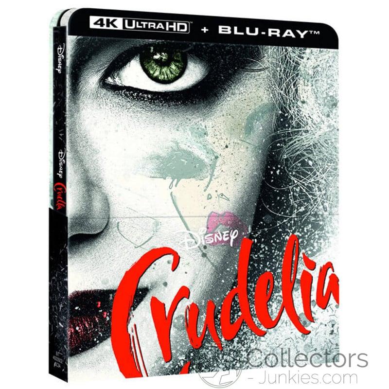 """""""Cruella (2021)"""" erscheint auf 4K UHD, Blu-ray und DVD   4K Steelbook (FR/ IT)   ab Oktober 2021 – Update"""