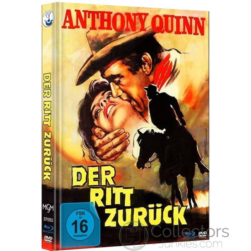 """""""Der Ritt zurück"""" ab August im Blu-ray Mediabook"""